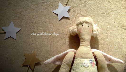 """Куклы Тильды ручной работы. Ярмарка Мастеров - ручная работа. Купить Тильда """"Домашний ангел"""". Handmade. Бежевый, тильда-ангел"""