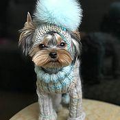 Одежда для питомцев ручной работы. Ярмарка Мастеров - ручная работа Комбинезон для собак. Handmade.