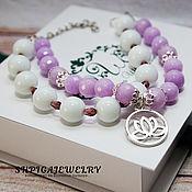 Украшения handmade. Livemaster - original item The bracelet is made of natural toned agate