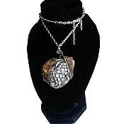 Украшения ручной работы. Ярмарка Мастеров - ручная работа кулон Плод Граната ручной работы из серебра. Handmade.