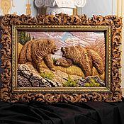 Картины и панно handmade. Livemaster - original item Bas-relief painting
