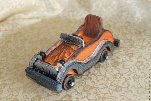 """Техника ручной работы. Ярмарка Мастеров - ручная работа. Купить Машинка """"Оранжевое настроение"""". Handmade. Оранжевый, машина, игрушка для детей"""