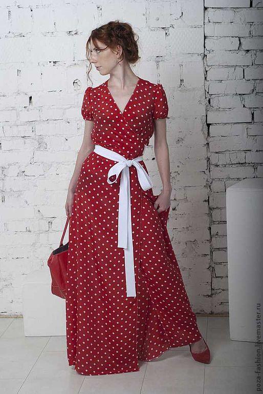 """Платья ручной работы. Ярмарка Мастеров - ручная работа. Купить Платье """"Горох"""". Handmade. Платье, горох"""