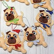 Сувениры и подарки handmade. Livemaster - original item Christmas toys made of felt