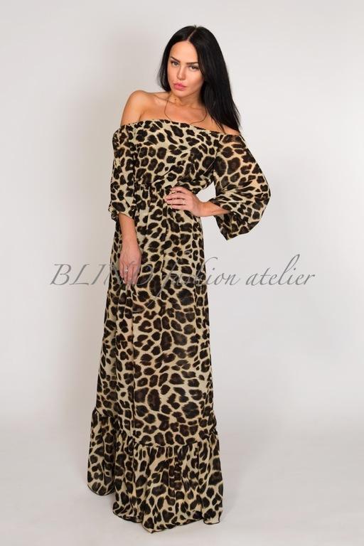 Платья с леопардовым принтом на красной дорожке