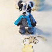 Куклы и игрушки handmade. Livemaster - original item Soft toys: raccoon. Handmade.