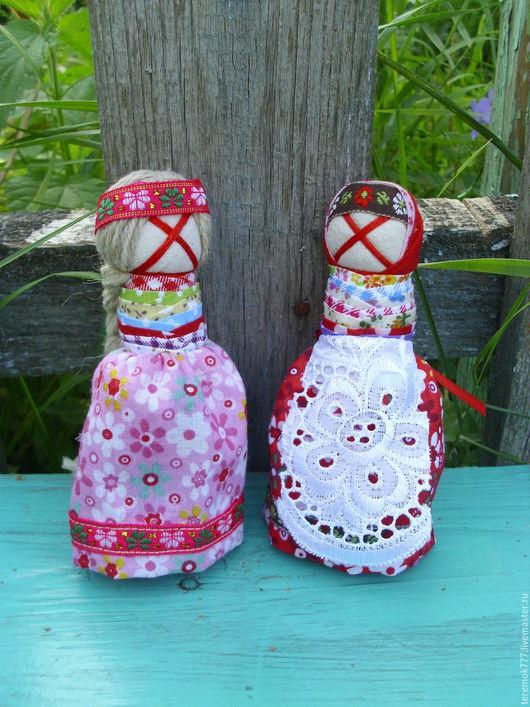 Народные куклы ручной работы. Ярмарка Мастеров - ручная работа. Купить Оберег На удачное замужество. Handmade. Комбинированный