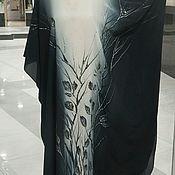 Одежда handmade. Livemaster - original item Vestido de batik de Clásicos
