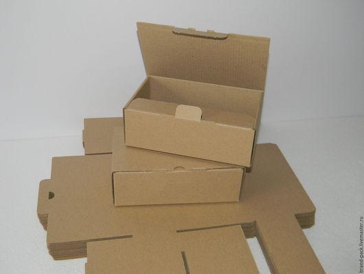 Упаковка ручной работы. Ярмарка Мастеров - ручная работа. Купить Коробка 17x11x5,5 см, микрогофра. Handmade. Коробка
