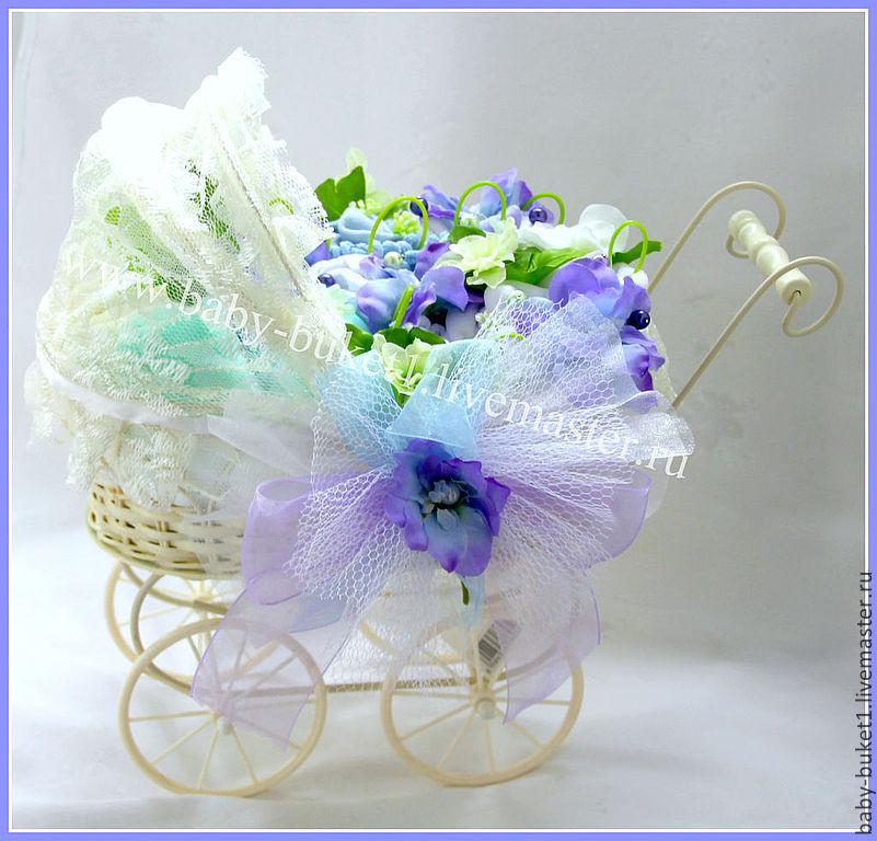 Букет для мамы новорожденного заказать цветы из шариков купить киев