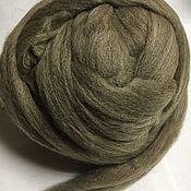 Материалы для творчества handmade. Livemaster - original item South American wool. 30 MD.Taupe. Germany.. Handmade.