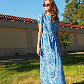 Одежда handmade. Livemaster - original item Long dress to the floor,