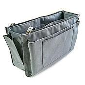Сумки и аксессуары handmade. Livemaster - original item Organizer 6 textile grey. Handmade.