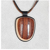 Украшения handmade. Livemaster - original item Wood pendants.. Handmade.