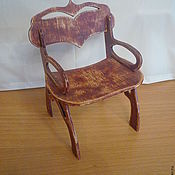Куклы и игрушки ручной работы. Ярмарка Мастеров - ручная работа Винтажный стул-кресло. Handmade.