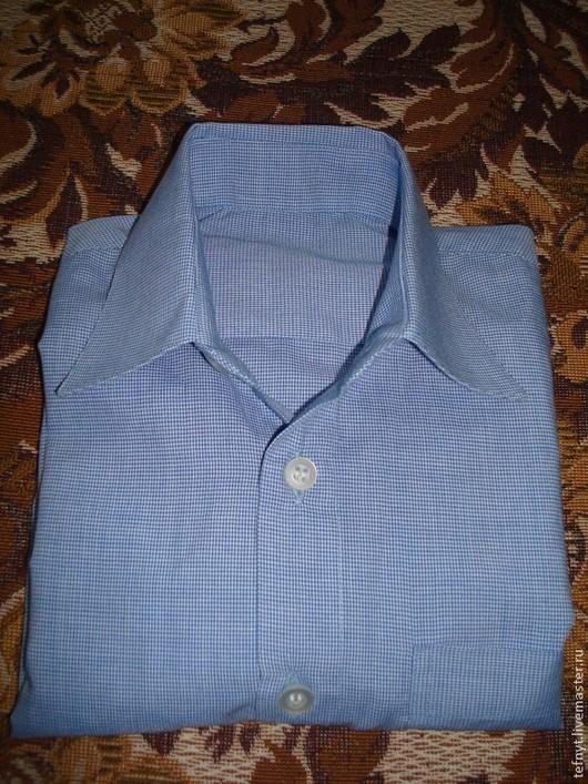 Одежда для мальчиков, ручной работы. Ярмарка Мастеров - ручная работа. Купить Детская рубашка. Handmade. Рубашка, голубой