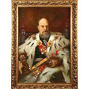 Картины и панно ручной работы. Ярмарка Мастеров - ручная работа Александр III. Handmade.