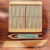 Пояса, очелья, тесемки ручной работы. Ярмарка Мастеров - ручная работа Бердо для ткачества поясов. 31 палочка.( 62 нити). Handmade.