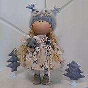 Тыквоголовка ручной работы. Ярмарка Мастеров - ручная работа Тыквоголовка Интерьерная кукла, текстильная кукла, кукла ручной работы. Handmade.