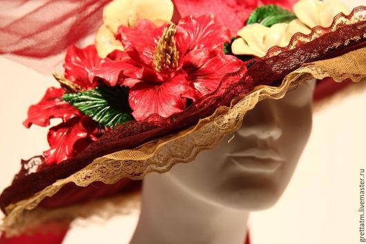 Шляпка `Бордо`
