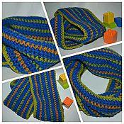 Работы для детей, ручной работы. Ярмарка Мастеров - ручная работа Детский шарф снуд для мальчика. Handmade.