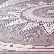 Картины и панно ручной работы. Ярмарка Мастеров - ручная работа Картина Солнце в тумане. Handmade.