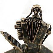 Сувениры и подарки handmade. Livemaster - original item Jew - accordionist. Handmade.