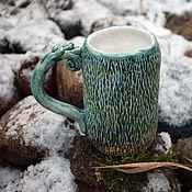 Посуда handmade. Livemaster - original item Twilight in the forest. Handmade.