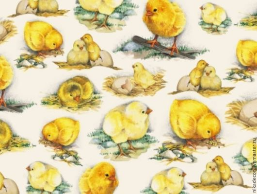 Цыплята Плотность 40 г/м2