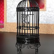 Для дома и интерьера ручной работы. Ярмарка Мастеров - ручная работа Клетка декоративная большая из металла. Handmade.