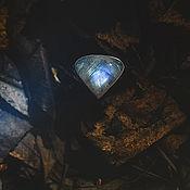 """Украшения ручной работы. Ярмарка Мастеров - ручная работа Серебряное кольцо с лунным камнем """"Полярные ночи"""". Handmade."""