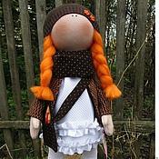 Куклы и игрушки ручной работы. Ярмарка Мастеров - ручная работа Интерьерная,текстильная кукла Лиза. Handmade.