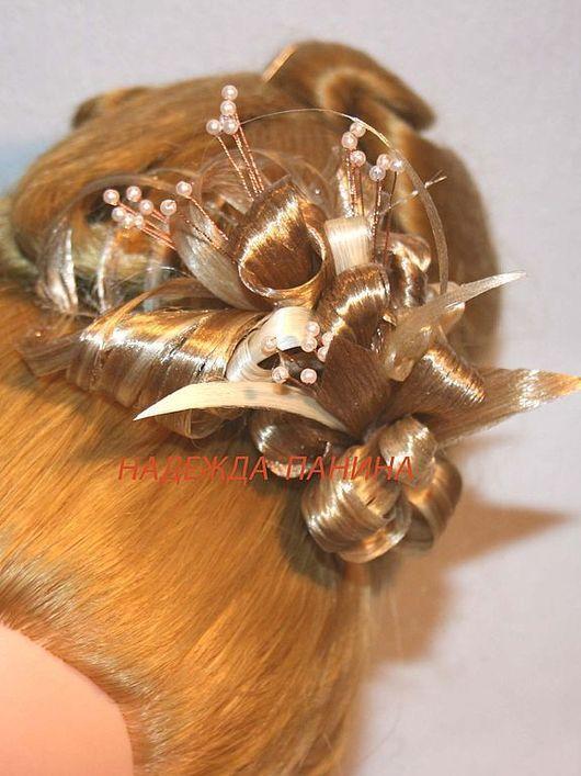 Заколки ручной работы. Ярмарка Мастеров - ручная работа. Купить Заколка для волос, постиж. № 8. Handmade. Заколка для волос