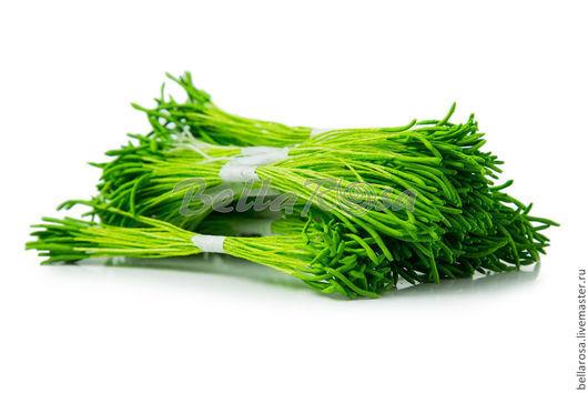 Тычинки `Лотос длинные`. Зеленые ножки, зеленые головки. В пучке 25 двусторонних тычинок (производство - Таиланд). 13 руб пучок.