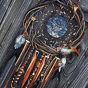 """Фен-шуй и эзотерика ручной работы. Ярмарка Мастеров - ручная работа Тотемный ловец снов """"Wisdom and intuition"""". Handmade."""