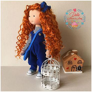 Куклы и игрушки ручной работы. Ярмарка Мастеров - ручная работа Интерьерная кукла Muraena. Handmade.