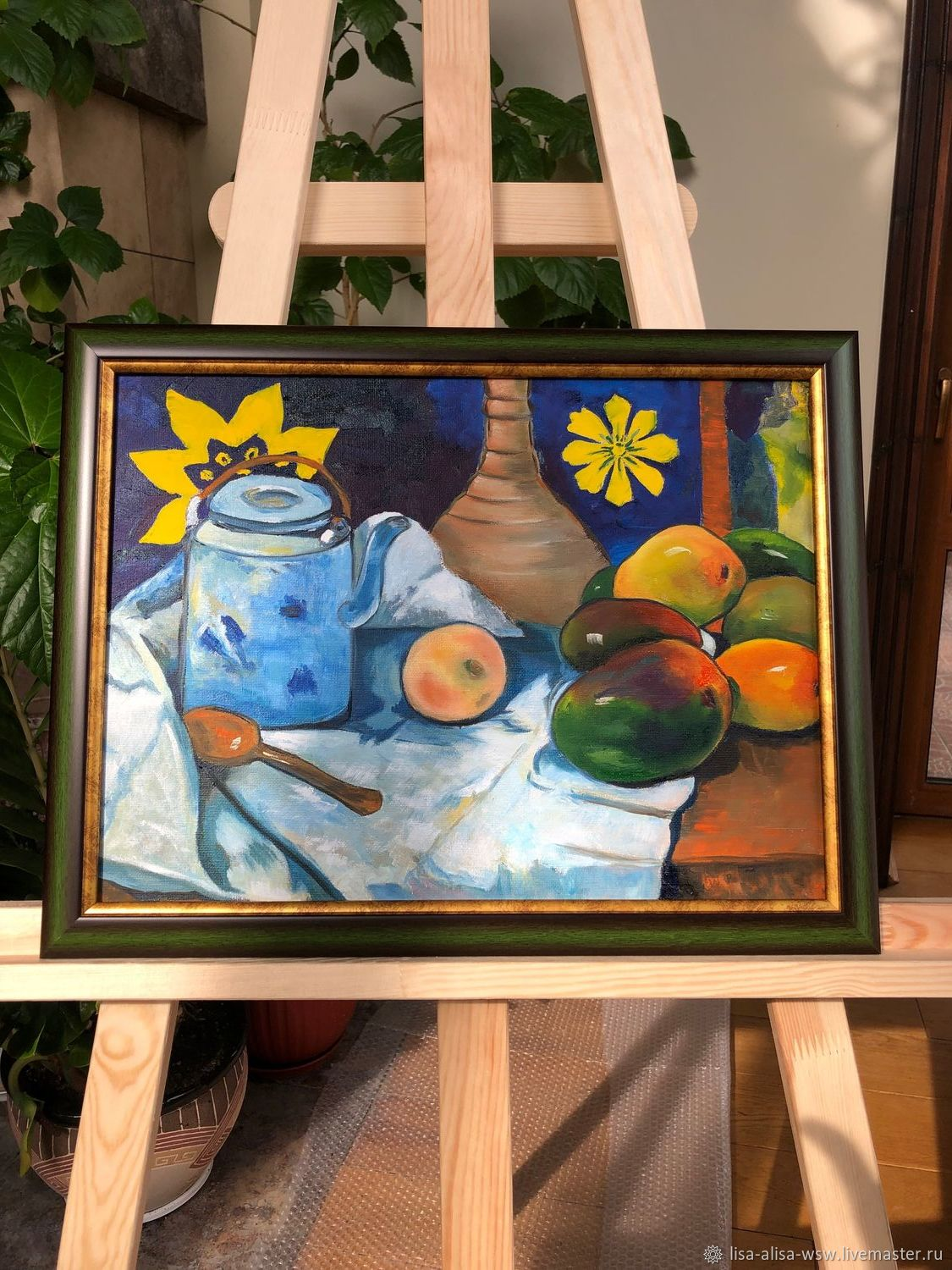 Still life. GAUGUIN. Copy of oil. impressionism, Pictures, Moscow,  Фото №1