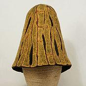 """Для дома и интерьера ручной работы. Ярмарка Мастеров - ручная работа Шапка для бани """"Солнечная сосна"""". Handmade."""