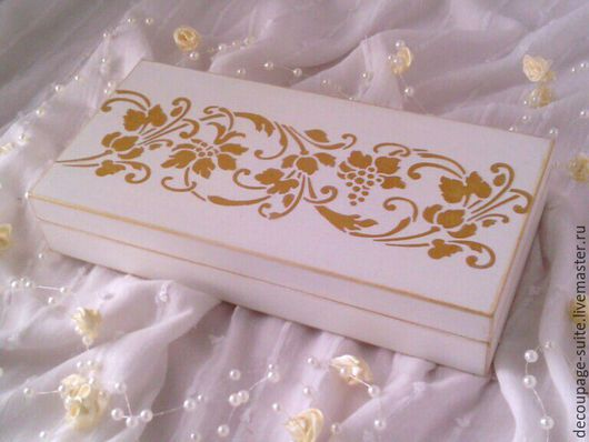 Подарки на свадьбу ручной работы. Ярмарка Мастеров - ручная работа. Купить Купюрница. Свадебная.. Handmade. Белый, белоснежный, золотые розы