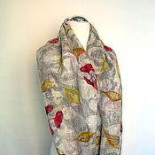 """Аксессуары ручной работы. Ярмарка Мастеров - ручная работа Снуд валяный шарф """"Привет из осени"""" войлочный снуд мериносовый шарф. Handmade."""