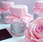 Косметика ручной работы. Ярмарка Мастеров - ручная работа Убтан Розовый Шоколад. Handmade.