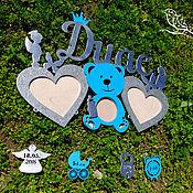 Сувениры и подарки handmade. Livemaster - original item Metric(frame) for babies. Handmade.