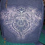 Рюкзаки ручной работы. Ярмарка Мастеров - ручная работа Рюкзак женский. Handmade.
