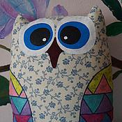 """Куклы и игрушки ручной работы. Ярмарка Мастеров - ручная работа Игрушка-подушка сова """"Аглафира"""". Handmade."""