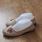 Обувь ручной работы. Ярмарка Мастеров - ручная работа вязаная обувь. Handmade.