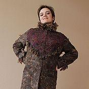 """Одежда ручной работы. Ярмарка Мастеров - ручная работа Пальто валяное """"Крокус"""". Handmade."""