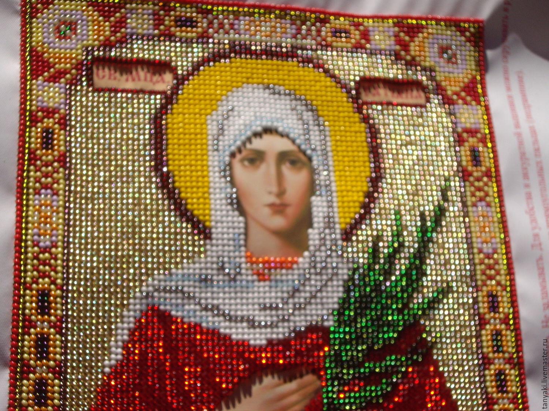 Икона святой татьяны вышивка