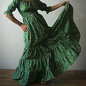 Одежда ручной работы. Ярмарка Мастеров - ручная работа Платье Хозяйка медной горы. Handmade.