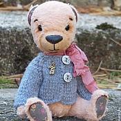 Куклы и игрушки ручной работы. Ярмарка Мастеров - ручная работа Мишка Тедди персиковый. Handmade.