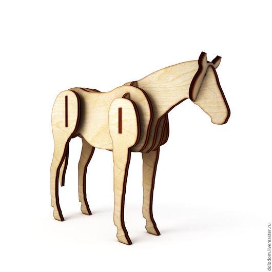 Куклы и игрушки ручной работы. Ярмарка Мастеров - ручная работа. Купить КДД-10-0020 Лошадь. Handmade. Заготовки для творчества